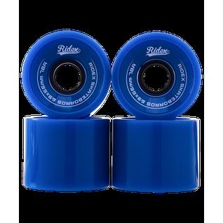 Комплект колес для лонгборда Ridex Sb, синий, 4 шт.