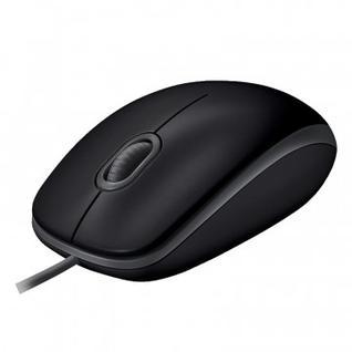 Мышь компьютерная Logitech B110 Silent USB черная (910-005508)