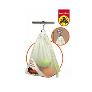 Хранение продуктов, овощей. Мешочки для овощей. Обработка продуктов. Potter Ind. Ltd. Мешочек для фруктов, овощей NMKC091/CV