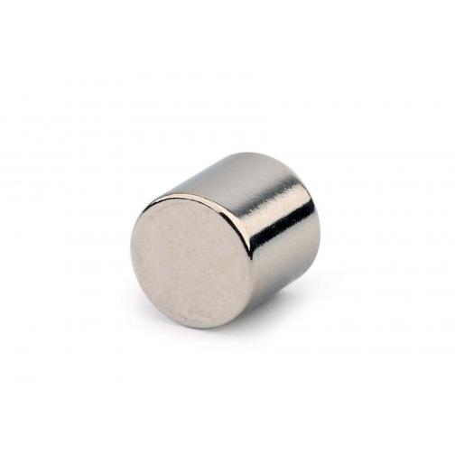 Неодимовый магнит - диск Forceberg 10х10мм, 4шт 6453365