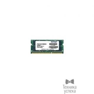 Patriot Patriot DDR3 SODIMM 4GB PSD34G16002S (PC3-12800, 1600MHz, 1.5V)