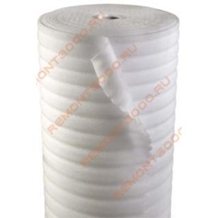 Подложка 3мм х 1,05м (52,5м2) / Подложка из вспененного п/э 3мм х 1,05м х 50м (52,5м2)