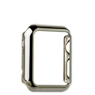 Чехол пластиковый COTEetCI Soft case для Apple Watch Series 1 (CS7016-TS) 42мм Серебристый