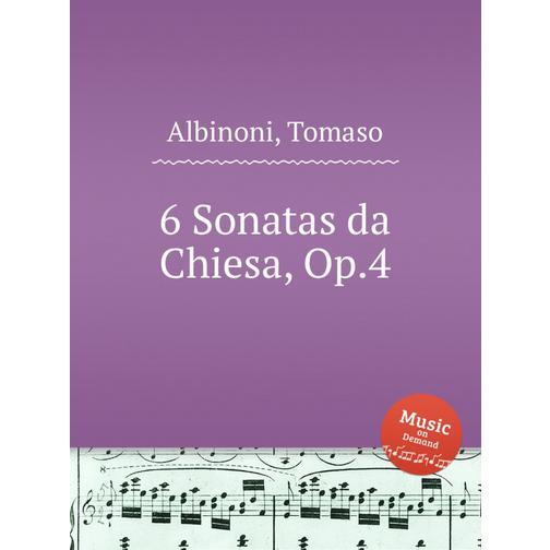 6 церковных сонат, op. 4 38717810