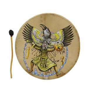 Этномэджик Бубен 60 см с рисунком, Индонезия