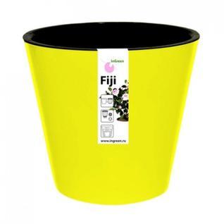 Горшок для цветов Фиджи D 230 мм/5 л желтый ING1555ЖТЛ