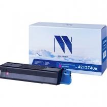 Совместимый картридж NV Print NV-42127406 Magenta (NV-42127406M) для Oki C5100, 5200, 5300, 5400 21186-02