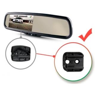 Зеркало заднего вида с монитором и автозатемнением Gazer MU700