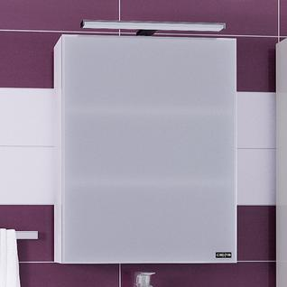 Зеркало-шкаф СанТа Стандарт 55 фацет, свет