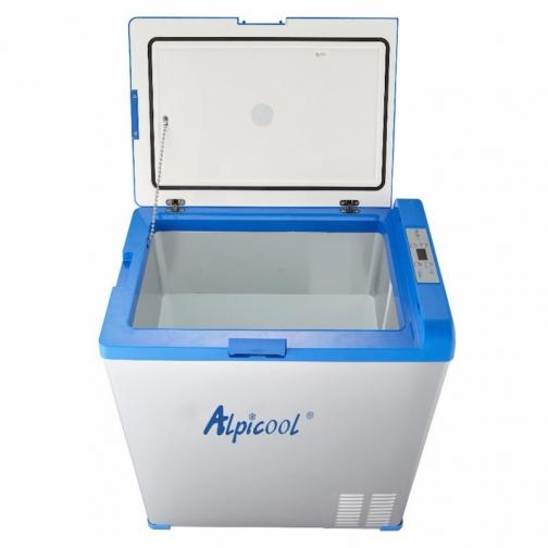 Kомпрессорный автохолодильник ALPICOOL ABS-75 синий (40л, 12/24/220В) 36971689 5