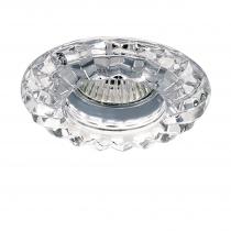 Lightstar 002120 Светильник SOLO RAY CR MR16/HP16 хром/прозрачный (в комплекте)