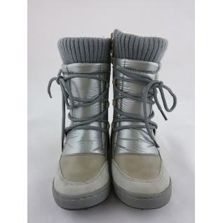 G11152В серый сапожки зимние для девочки р.25-30 (28) Барракуда