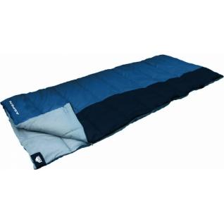 Спальник одеяло кемпинговый Trek Planet Aspen темно-синий/синий (70362-L)