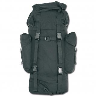 Made in Germany Рюкзак в стиле Бундесвера, цвет черный