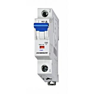 Автоматический выключатель BM618102 однополюсный, нагрузка 2 ампера Schrack