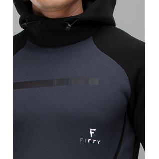 Мужское спортивное худи Fifty Intense Pro Fa-mj-0101, черный/темно-серый размер XL