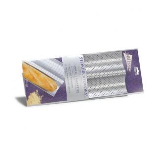 Форма для выпечки багетов 2-х секционная Patisse Silver 38х16 см