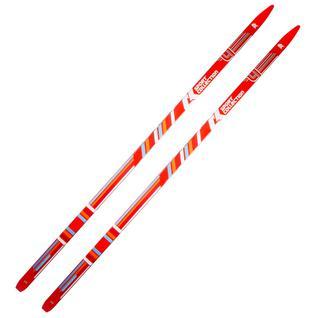 Лыжи СК (Спортивная Коллекция) (спортивная коллекция) Ck Classic степ, красный размер 175