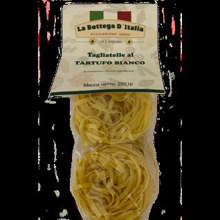 """La Bottega Паста из твердых сортов пшеницы с белым трюфелем """"Тальятелле аль тартюфо бьянко"""" ТМ """"Giuliano TARTUFI"""", 250 гр."""