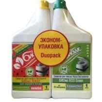 Набор средств для биотуалетов БИОwc RINSE, 1л. + БИОwc ECO Green, 1л