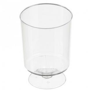 Бокал одноразовый д/вина Комус 0,2 мл,кристалл,ПС 6шт./уп. 12уп./кор. Росси