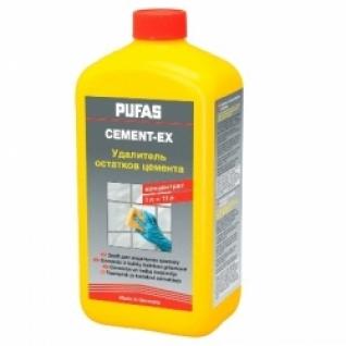 ПУФАС N112-R Удалитель цементного налета (1л) Cement-Ex / PUFAS N112-R Cement-Ex средство для очистки цементных загрязнений (1л) Пуфас