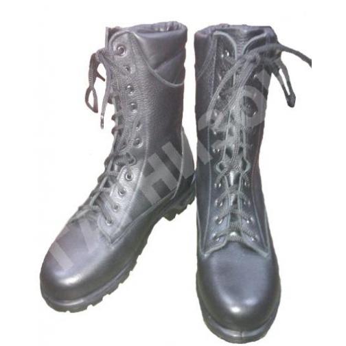 Берцы хромовые солдатские 14019