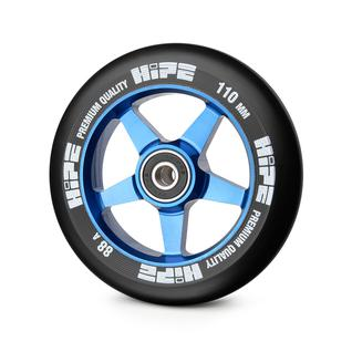 Колесо Hipe 09 110mm, синие/черное