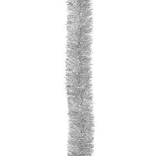 Мишура Норка на проволоке цветная 50 мм серебро № 25