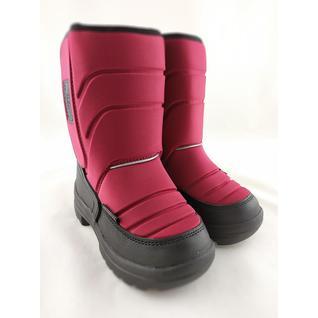 028-36-3 Ботинки красный мембрана Мышонок 33-39 (33)