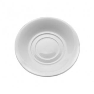 Блюдце фарфор, универсальное, Wilmax белое, 14 см WL-996099