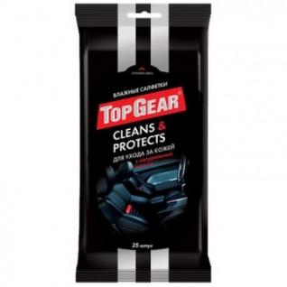 Салфетки влажные для авто Top Gear №25