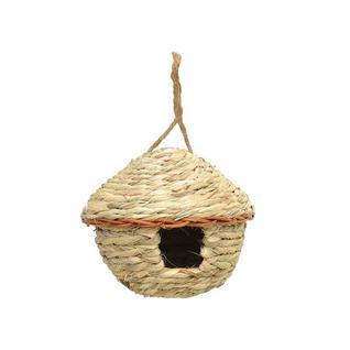 Скворечник круглый плетеный Verdemax 15 х 15 см