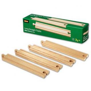 Набор деталей для деревянной ж/д, 4 элемента Brio