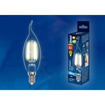 Uniel LED-CW35-6W/WW/E14/CL PLS02WH картон