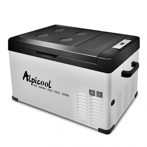 Kомпрессорный автохолодильник ALPICOOL ACS-30 черный (30л, 12/24/220В) 36971687 3