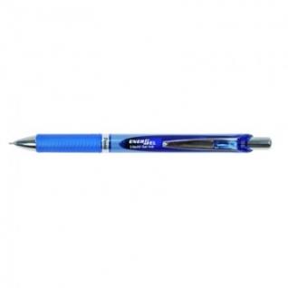 Ручка гелевая PENTEL BLN75C EnerGel автомат.рез.манжет. 0,3мм синий ЭКО
