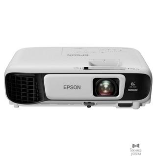 Epson Epson EB-U42 V11H846040 3LCD 1920x1200 3600lm 15000:1 2Вт 10000h 1.2x VGA HDMIx2 RCA USB Wi-Fi (802.11n)