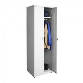 Метал.Мебель P_ШРМ-АК-500 шкаф д/одежды 2 дв. 500х500х1860