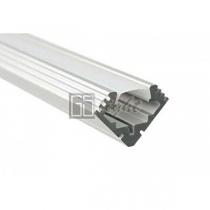 GSlight Алюминиевый угловой профиль СК-567 (без экрана), 2м