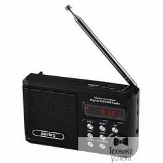 Perfeo Perfeo мини-аудио Sound Ranger, FM MP3 USB microSD In/Out ридер, BL-5C 1000mAh, черный (PF-SV922BK)