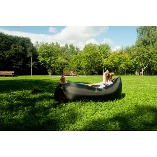 Надувной диван - гамак lamzac hangout хаки