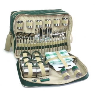 Набор для пикника Green Glade 3653 на 6 персон, сумка-холодильник 18 ...