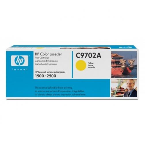 Оригинальный картридж C9702A для HP CLJ 2500, 2550 (желтый, 4000 стр.) 811-01 Hewlett-Packard 852524 1