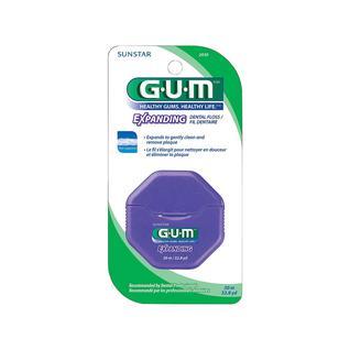 Нить зубная G.U.M EXPANDING эластик