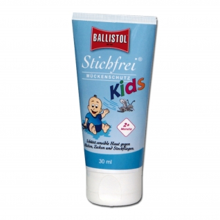 Ballistol Лосьон для защиты детей от укусов насекомых Stichfrei 30 мл.