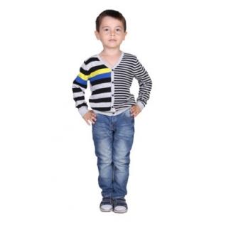 Jetem, Кардиган д/мальчика (BS08_2200000368911 104, серый, Мальчик)