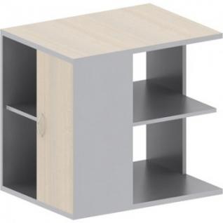 Мебель Easy St Тумба под копир 909681 (904239) св.дуб/сер. (440)