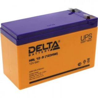 Аккумуляторная батарея Delta HRL 12-9 (12V/9Ah)