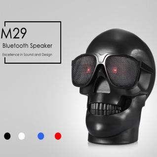 Портативная колонка bluetooth CH-M29 череп